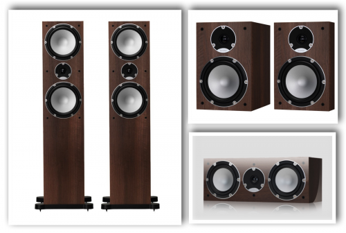 TANNOY Mercury ořech set 5.0