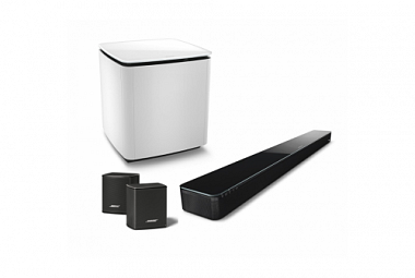 BOSE SoundTouch 300 / Acoustimass 300 bilá / Virtually Invisible 300 set