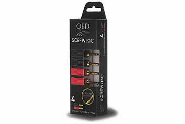 QED terminály Screwloc 4mm