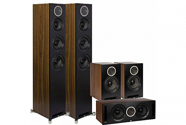 Elac Debut Reference 5.0 ořech