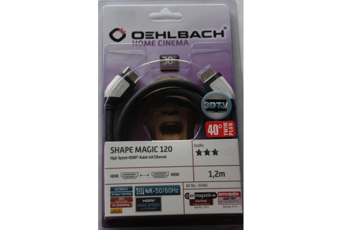 OEHLBACH SHAPE MAGIC HDMI 1.2 m