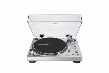 Audio-Technica AT-LP120xBT - stříbrná