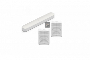 Sonos Beam 5.0 Surround set - bílá