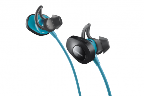 BOSE SoundSport wireless modrá