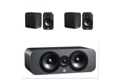 Q ACOUSTICS 3020 grafit set 5.0